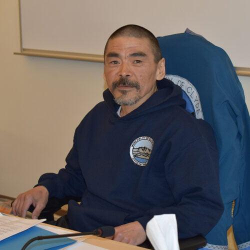 Deputy Mayor Clyde River